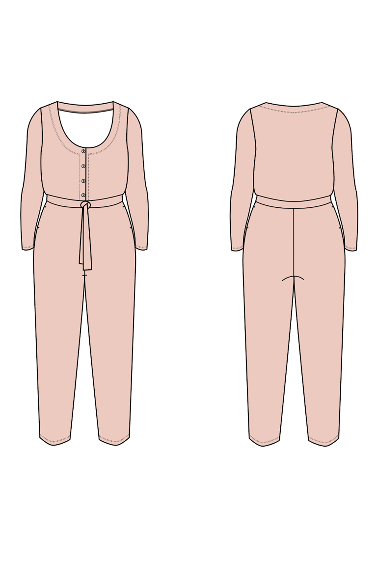 The Billie Bonus sewing pattern, from Seamwork