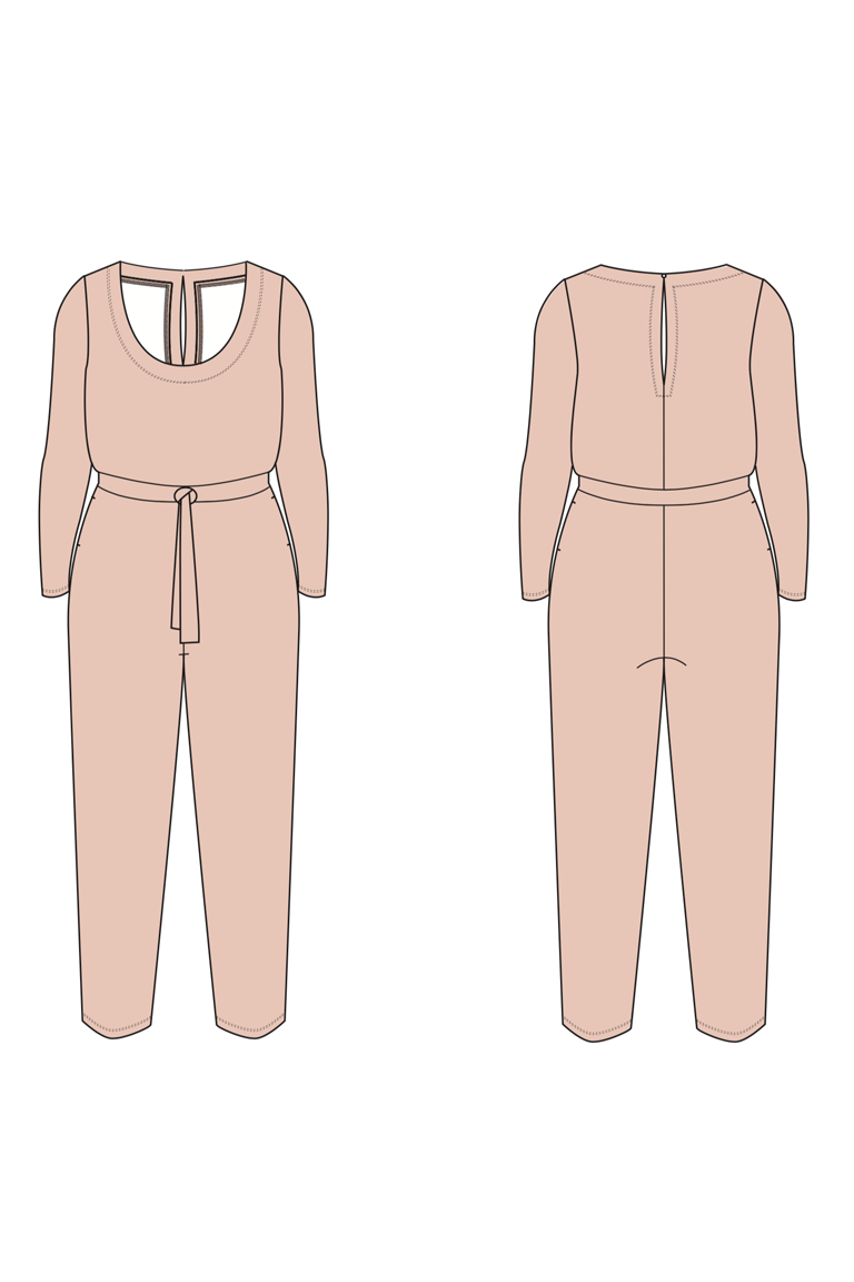 The Billie sewing pattern, from Seamwork
