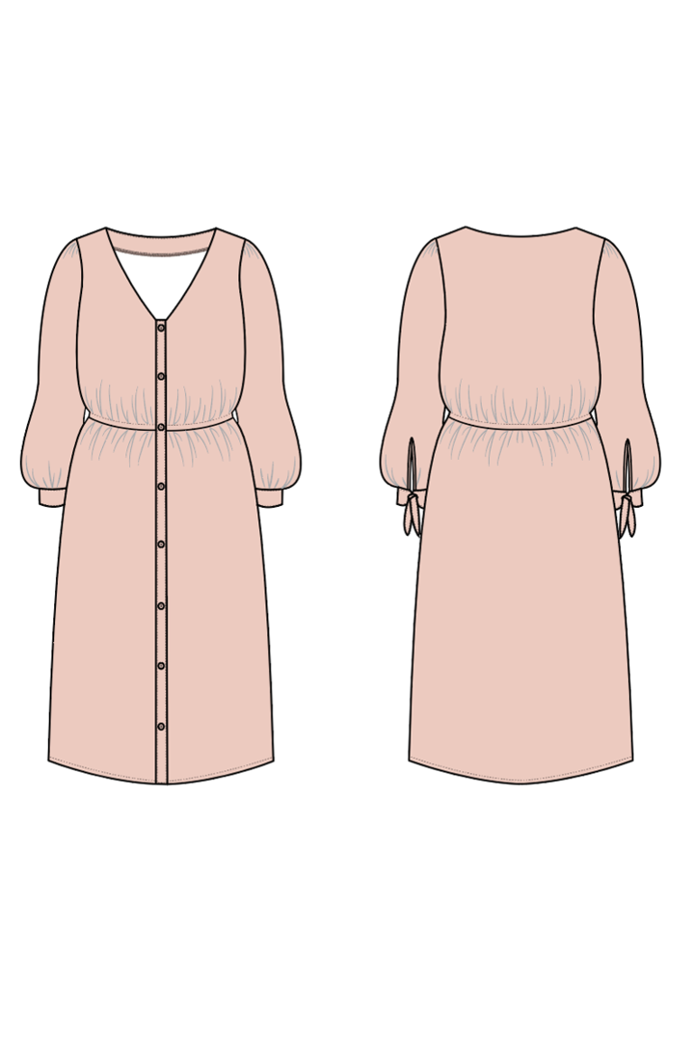 The Bertie sewing pattern, from Seamwork