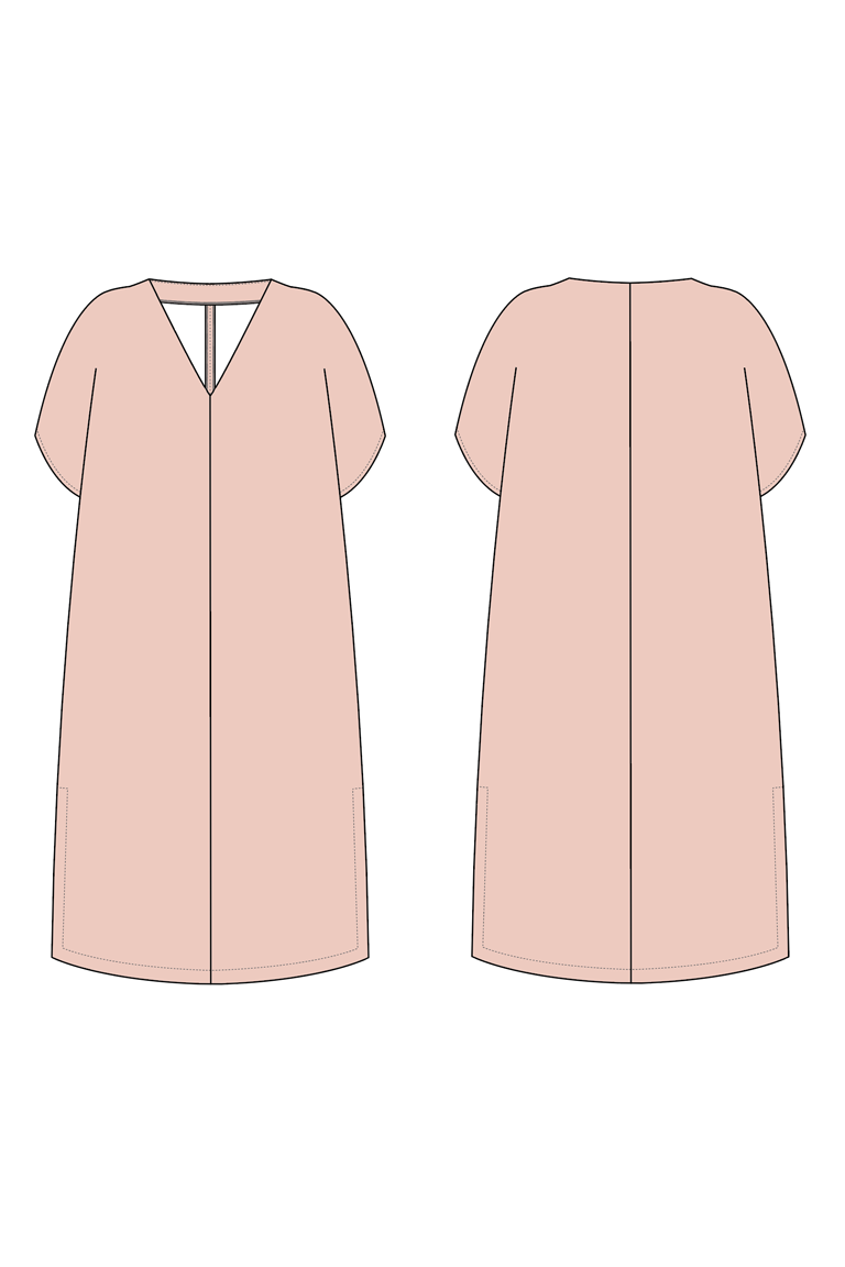The Micah sewing pattern, from Seamwork