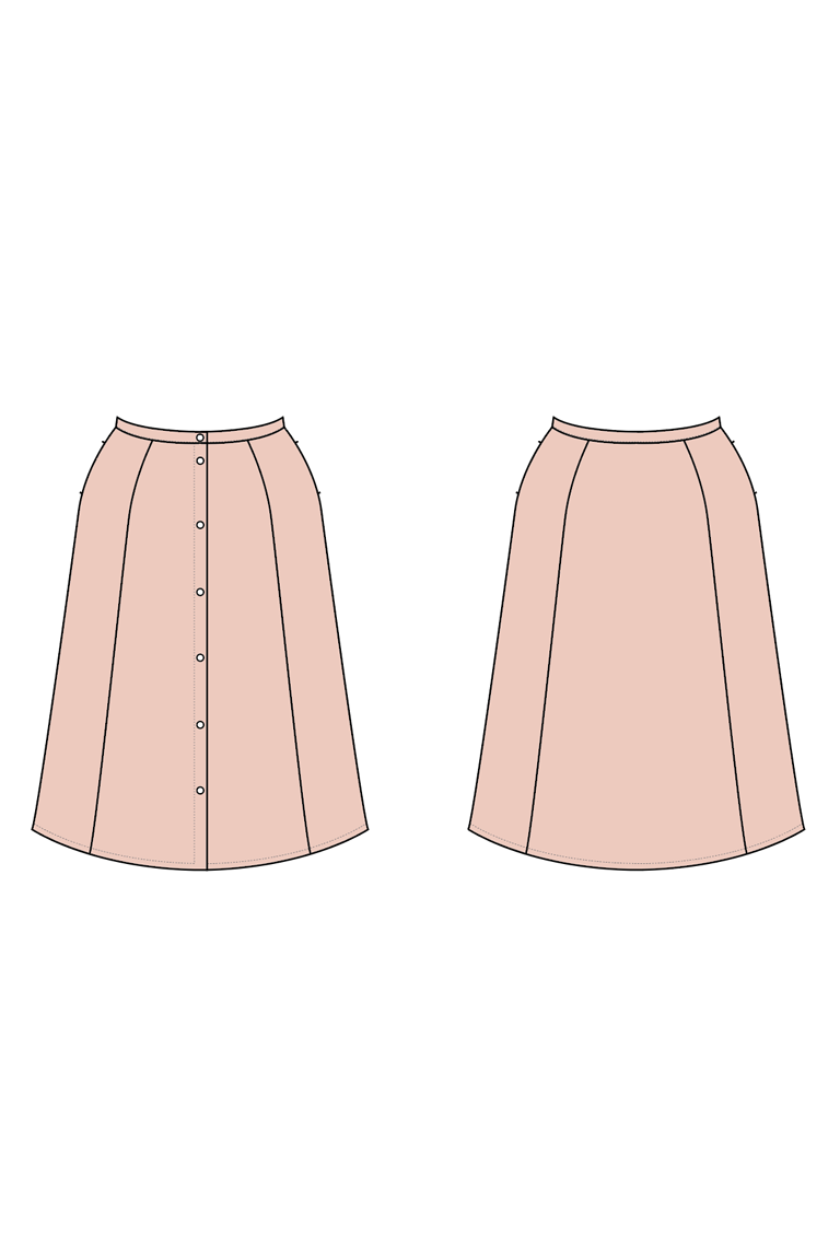 The Sawyer sewing pattern, from Seamwork