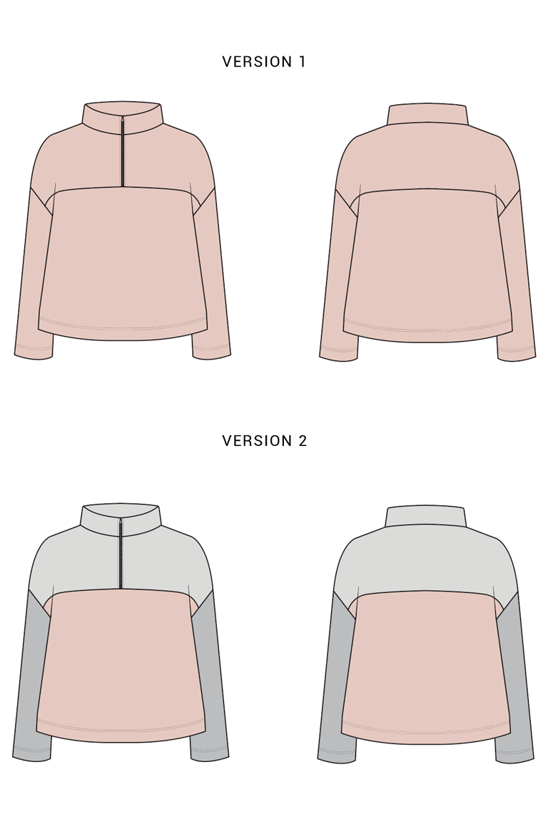 The Amari sewing pattern, from Seamwork