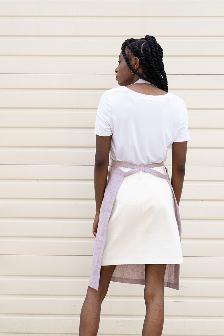 The Alex Apron sewing pattern, from Seamwork