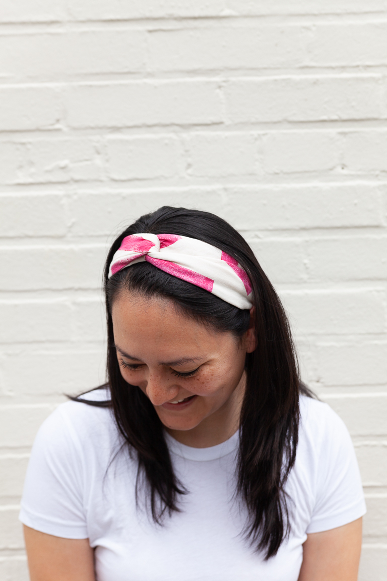 The Drew Headband sewing pattern, from Seamwork